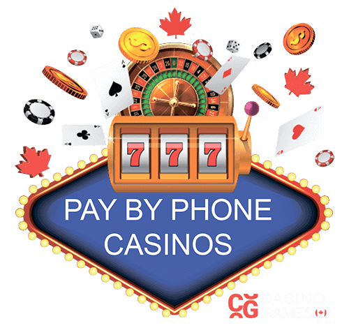 Pay by phone casinos logo