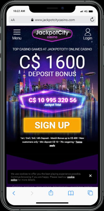Jackpotcity mobile casino picture